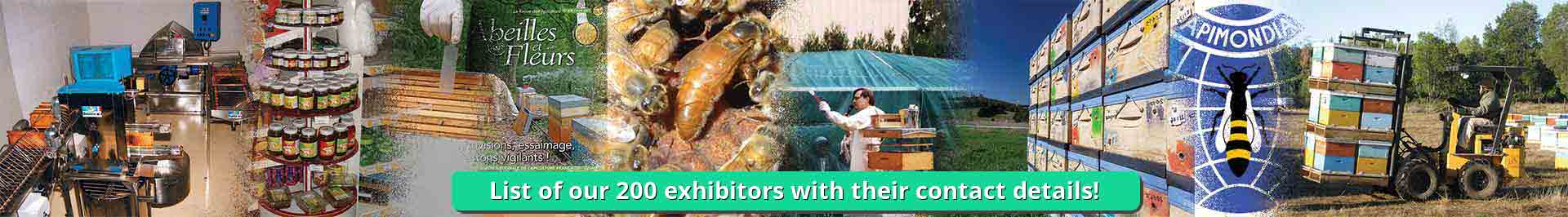 List of exhibitors in Apiservices - Beekeeping portal